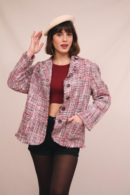 90's Tweed Jacket
