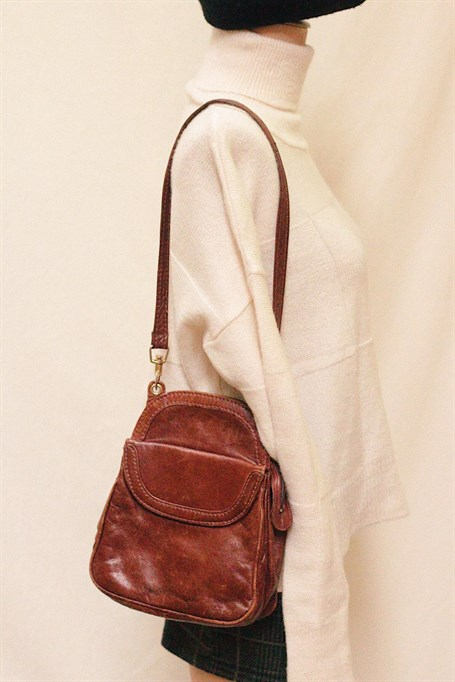 Org. Leather 80's Bag
