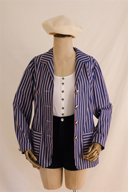 90s Striped Jacket