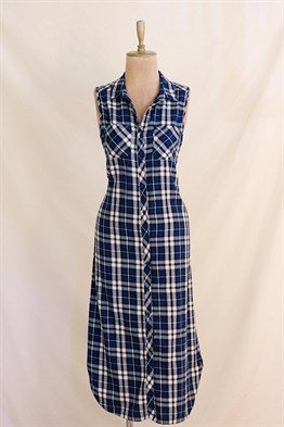 90s Plaid Dress