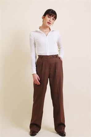 Estelle Brown Pants