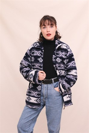 Ethnic Polar Jacket