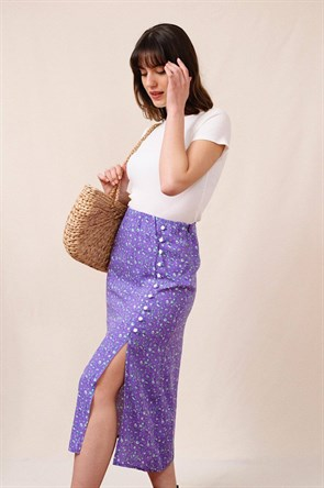 Vivien Purple Skirt